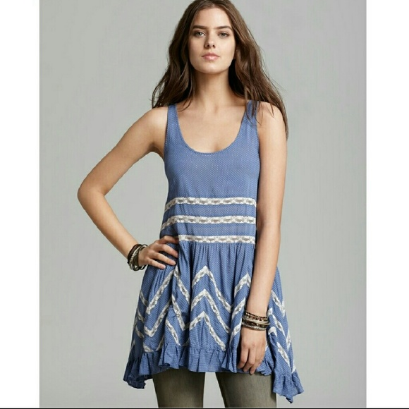 6408545f2c94 Free People Dresses   Skirts - Intimately Free People Voile and Lace Trapeze  Slip